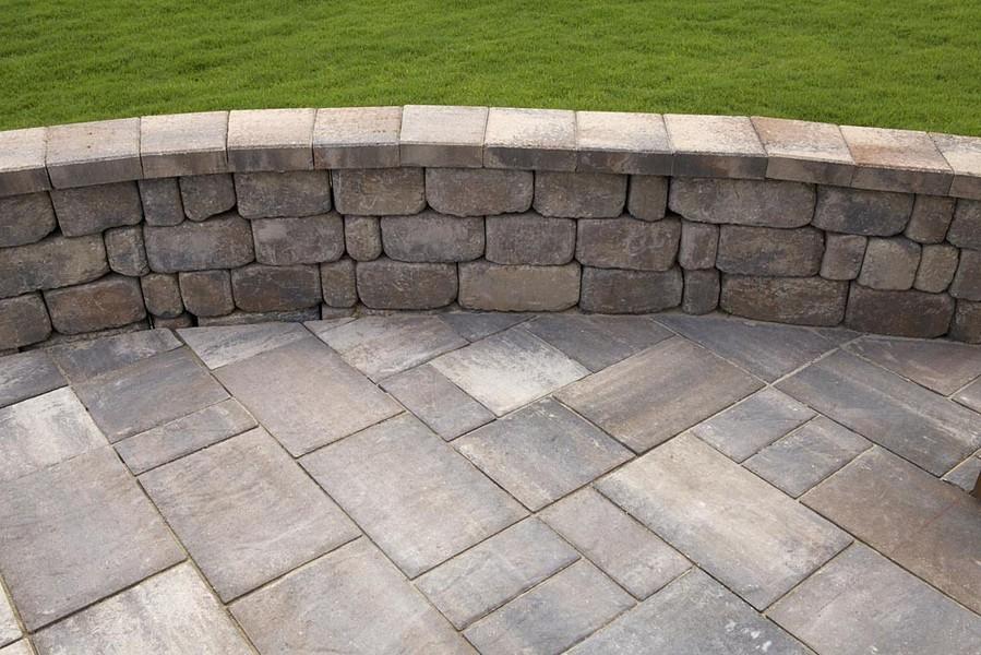 Paver Retaining Walls Tuscan Paving Stone