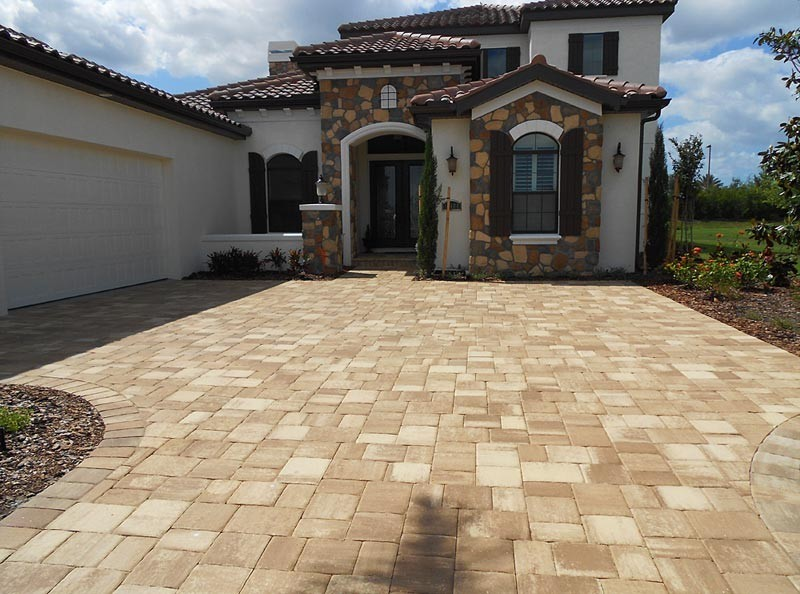 Paver Shapes And Textures Tuscan Paving Stone