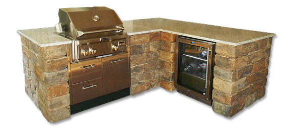 Modular Outdoor Kitchens | Stonegate Grill Kits And Outdoor Kitchens Tuscan Paving Stone