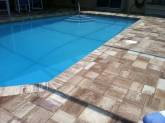 Do You Have An Existing Pool Deck Or Lanai In Need Of A Face Lift The Remodel Pavers Are Perfect Solution These Installed Over